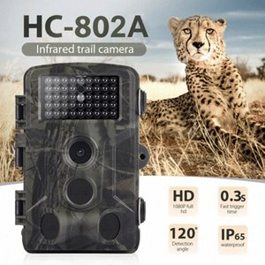 HC802A Hunting Camera 16MP 1080P Wildlife Trail Camera Photo Traps Infrared Wildlife Wireless Surveillance Tracking Cameras Wireless V DaPD#