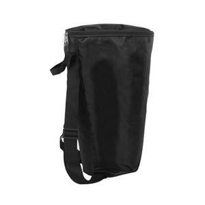 Durable 8inch Djembe Shoulder Carry Storage Bag African Drum Gig Bag Backpack Container Black
