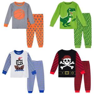Пижама Дети Хэллоуин Pajama наборы малыши Рождество пижама дети Pirate Пижама PJs Дети с длинным рукавом мальчики Пижама 200922