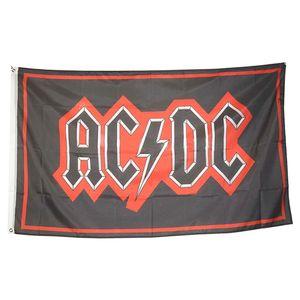 Bandeira da banda AC DC Rocha 3x5 personalizados, impressos personalizados poliéster Publicidade Hanging Voar, frete grátis