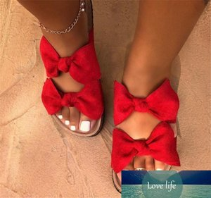 Fashion Slippers Bowknot Hot Summer Sandals Women Shoes Woman Sandals