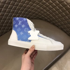 New TOP style thick sole high top board shoe, Korean edition tide Martin casual short boot white cowboy boots RD199