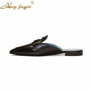 Nancyjayjii Women Slippers Adult Solid Outside&Indoor Sewing Fashion Black Square Heel Spring Autumn Sexy Mature Leisure 2018 ikCn#
