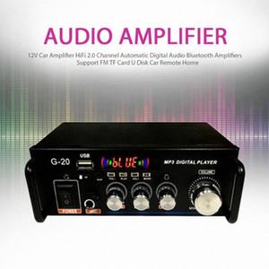 12V Auto Hallo Fi 2.0-Kanal automatisches Digital-Audio Bluetooth Auto-Fern intelligenter mv3t #