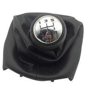 5 Скорость переключения передач Ручка с крышкой Ошейники переключения передач Рычаг пыли Anti-пыли для Peugeot 307