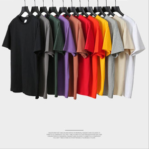 Cotton short sleeve men clothes casual oversize mens t shirt