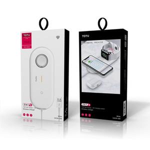 새로운 Min.1pcs QI 보편적 인 무선 충전기 패드 3에서 1 10w 고속 충전을 위해 휴대 전화 애플 시리즈 시계 무선 이어폰 블루투스