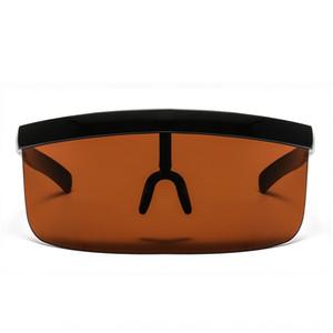 Film todo-en-uno Gafas de sol anti-asomando grande marco de la máscara anti-bloqueo personalizado gafas de sol sombrero de color de moda por lotes Rsxpt