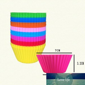 Silicone Cupcake Moulds Muffin Moulds Cupcake Cases Non-Stick Heat Resistant Baking Molds Food Grade Candy Color