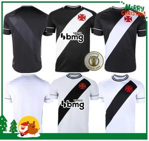قميص 20 21 فاسكو دا جاما لكرة القدم الفانيلة MAXI RIOS باولينيو FABIANO MURIQ مخصص 2020 2021 أسود أبيض لكرة القدم