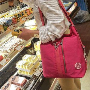 2020 New Women Top Handle Shoulder Bag Designer Handbags Nylon Crossbody Bags Female Casual Shopping Tote Messenger Bags