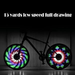 Супер крутой и прочная светящаяся велосипед коляска с помощью цветок барабан свет велосипед аксессуары Ciclismo свет велосипед