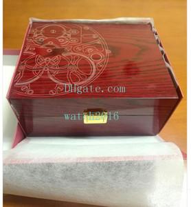 Top-Qualität PP Uhrkastenkasten Männer Luxus Aquanaut Paper Karte Rote Holzschachteln Groß Für Nautilus 5167 5711 5712 5740 5726 5980 Niedriger Preis