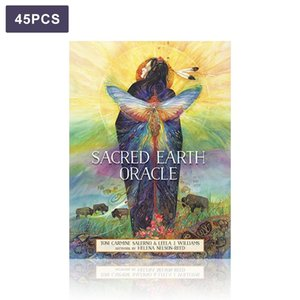 Conseil Fournitures Jeux Kit Oracle Party Guide Sacred Tarot Divination Tarot Cartes Terre destin Famille bbyieS de yh_pack