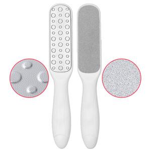 Double Side Pé Rasp de Raspado Arquivo Duro Dead Skin Callus Removedor Cleaner Pedicure Pés Files de Calcanhar Banheiro Escova de Banheiro Ferramenta de cuidados