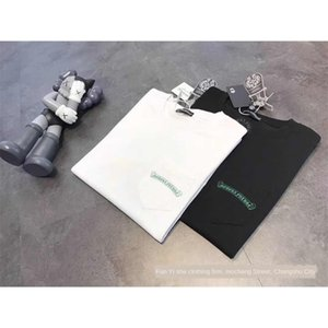2020 New Cross brazo carta flor grupo de manga corta camiseta de bienes INS Taobao