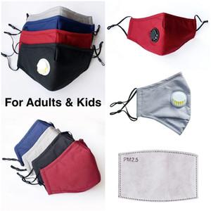 DHL Designer Kinder / Erwachsene Baumwolltuch PM2.5 Anti-Staub-Masken-Non-Woven Gewebe Waschbar-Kind-Karikatur-Tuch-Masken