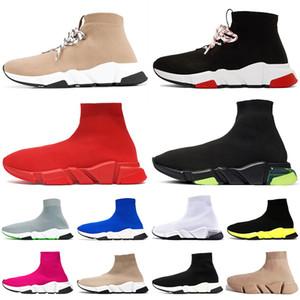 speed trainer bayan erkek lüks tasarımcı çorap ayakkabı tripler étoile vintage rahat çorap eğitmenler sneakers tasarımcı botları
