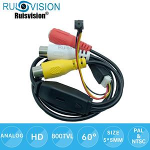 800TVL analog mini kamera CVBS renk CCTV kamera 5 * 5mm diy modül CMOS Güvenlik Video Gözetleme Küçük