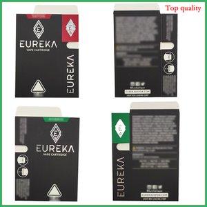 Figura del diamante Imballaggio Eureka cartucce di ceramica bobina 1,0 / 0,8 ml No Leak atomizzatore vapes carri vape penna roccia lunare
