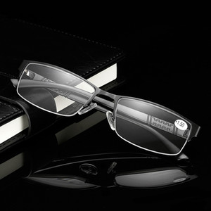 Metall-Legierung Lesebrille Männer Readers Frauen Brillenultra Presbyopie Spiegel Weibliche Geschäfts-Frauen Hyperopie Glasses