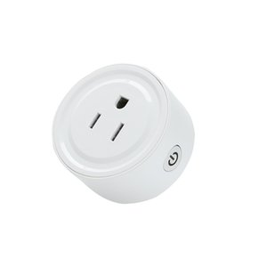 Mini Smart Wifi Socket Smart Home Plug Smart Socket Timer Switch Can Be Used With Alexa Google Home Wireless Remote Control Socket