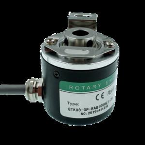 Eje hueco codificador giratorio fotoeléctrico ZKP3808 600 de impulsos 600 de línea / 2500 de impulsos 2500 línea ABZ trifásico 5-24 V