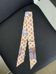 2020 sciarpe sciarpa sciarpe di seta per capelli sensazione ufficio marchio piazza Stampa Hotel Cameriere assistenti di volo della moda sciarpa 100 ~ 6CM