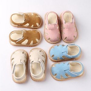 DHL 20pair Baby Boys and Girls sandals Summer fashion Infant sneakers non-slip Rubber sole baby Sandals