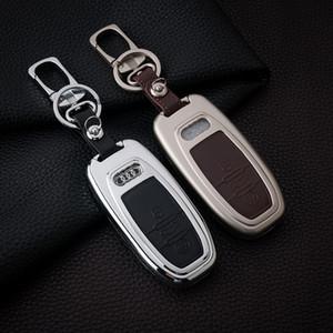 Zinc alloy Key shell Cover Case For Audi A8 A4 A4L A6L Q5 Q7 key Set Bag