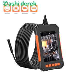 2m / 5m / 10m Rigid Kabel und weiche Kabel optinal 2600 mAh endorscope Kamera-Unterstützung Aufnahme Video winzige Kamera mit 8pcs LED LIGHT