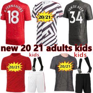 2020 2021 Fußball-Trikot Rashford WALD KAMPF WAN-BISSAKA man u Kinder Pogba Lingards BRUNO FERNANDES MAGUIRE