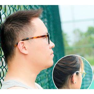 Óculos Ear Hooks titular Anti Slip Silicone Grips Óculos Sports Dicas Temple