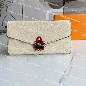 Designer Wallet For With Women Small PU Leather Long Grainy Sale Comes Goods Packaging Box Com Tlebj