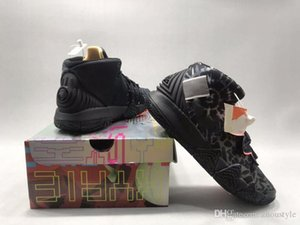 2020 Authentic Kybrid S2 What The Men Basketball Shoes What The USA Sashiko BB logo Black Man Sports Shoes CQ9323-001 With Box