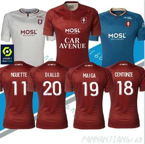 2020 2021 FC METZ FOOTBALL JERSEYS DIALLO 20 CentOnze 18 VAGNER 27 NIANE 7 FOFANA 6 HOME JERSEY FOOTBALL