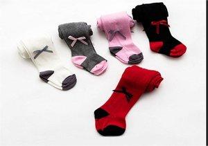 2020 New Baby Girls Toddler Kids Christmas Bow Socks Cotton Warm Pantyhose Socks 0-24M Wholesale Dropshipping Pudcoco