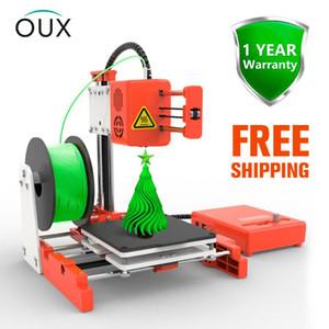 PLA Filament ile oux X2 Mini Masaüstü 3D Printer Yüksek Hassas Okulu öğretim kurumu Çocuk Sessiz Baskı
