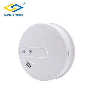 Portable Fire Smoke Sensors Wifi Wireless Heat 2 in 1 Smoke Temperature Detector Sensor Alarm For 433MHz Home Security System