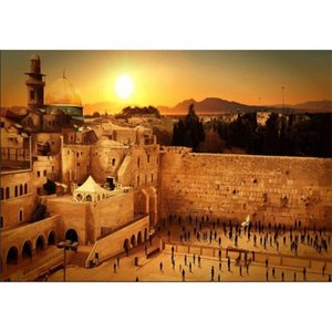 JMINE Div 5D Wailing Wall Israel Jerusalem Full Diamond Painting cross stitch kits art Scenic 3D paint by diamonds 0924