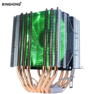 6 Heatpipes Cpu Cooler Fan With Rgb Dual-Tower Radiator 9Cm Fan Cooling Heatsink For Intel 775 1150 1151 1155 1156 1366 For Am