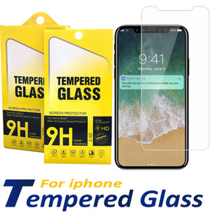 Tempered Glass For iPhone 12 11 PRO MAX XS Max XR XS Screen Protector For samsung s20 a10 with package