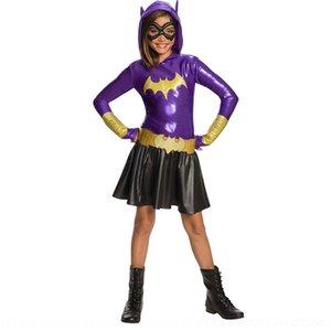 e7x0y vestido de super jogo até roupas Meninas performance de palco traje marseigma herói Bat vestido de super-herói das crianças até g Bat Meninas infantil