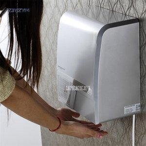 1800W Inteligente de mão automático secadores de mão Secador de alta velocidade do sensor inteligente de sensores secador secar as mãos 9088 azul / branco