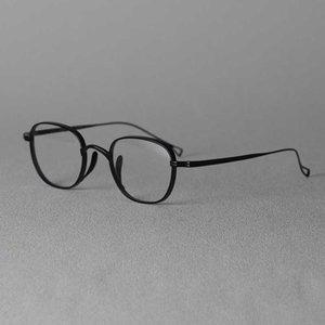 Optik Gözlük için cubojue Titanyum Gözlükler Çerçeveler Erkekler Kadınlar 10.4g Çalışkan Gözlükleri Erkek Ultralight Gözlük Kalın Yan Jant