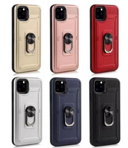 Escudo armadura à prova de choque Phone Case Capa para iPhone 11Pro max 6 / 6Splus Militar Gota Testado TPU silicone para iphone 12