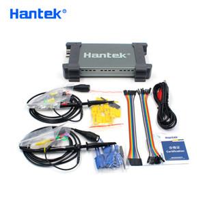مثبتات الذبذبات Hantek الرسمية 6022BL PC USB الذبذبات 2 القنوات الرقمية 20MHz النطاق الترددي 48smsa / s نموذج العينة 16 محلل المنطق