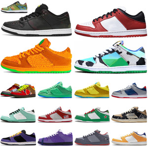 Nike SB Dunk Low 2020 Dunk Hommes Femmes Chaussures De Course Chicago Civilist Chunky Dunky Orange Ours ACG Terra Lobster Violet Hommes Baskets Sports De Plein Air Baskets