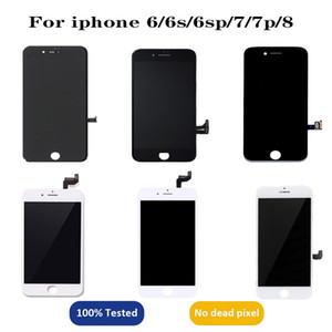 Display LCD para iPhone 6 6S 6S PLUS 7 8 7PLUS 8Plus Touch Screen Replacement LCD Digitizer Assembly