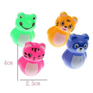 Cartoon mini tumbler animal type children's educational mini toys kindergarten prize gift cat toy